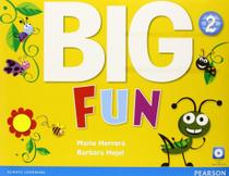 Livro - Big Fun 2 Student Book with CD-Rom -