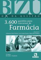 Livro Bizu O X Da Questão 3.600 Questões P Concursos De Farmacia - Rubio -