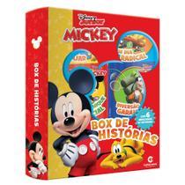 Livro - BOX DE HISTORIAS MICKEY -
