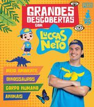 Livro - Box - Grandes descobertas com Luccas Neto -
