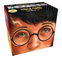 Livro - BOX HARRY POTTER EDIÇÃO COMEMORATIVA 20 ANOS - CAPA DURA -
