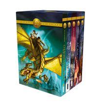 Livro - Box Os Heróis do Olimpo -