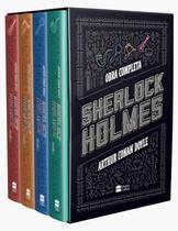 Livro - Box Sherlock Holmes -