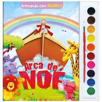 Livro - Brincando com Aquarela: Arca de Noé -