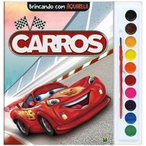 Livro - Brincando com Aquarela: Carros -