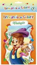 Livro - Brincando de colorir -
