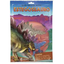 Livro brinquedo ilustrado dinossauros sort. c/ miniatura unidade - Culturama