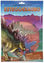 Livro brinquedo ilustrado dinossauros sortom com miniatura - Culturama