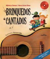 Livro - Brinquedos cantados -