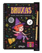 Livro - Bruxas - raspe, descubra e desenhe -