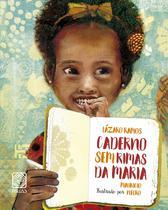 Livro - Caderno sem rimas da Maria -