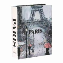 Livro Caixa Decorativo Book Box Paris - Arrivo Mobile