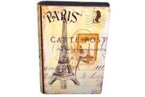 Livro Caixa Enfeite Decoração Porta Objetos Joias Paris - Sweet Home