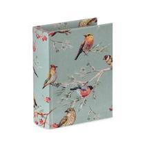 Livro Caixa Mart Pássaros Verde P - Moas Industria E Comercio I.E.