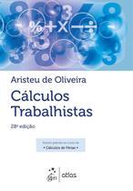 Livro - Cálculos Trabalhistas -