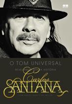 Livro - Carlos Santana: O tom universal -