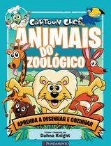 Livro - Cartoon Chef - Animais Do Zoológico -