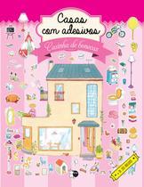 Livro - Casas com Adesivos -