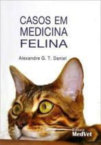 Livro Casos Em Medicina Felina - Medvet