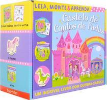 Livro - Castelo de contos de fadas: leia, monte e aprenda -