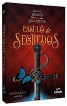 Livro - Casulo de segredos - Elisa Galvão - Loja Das Princesas