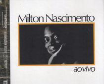 Livro + CD Milton Nascimento - Ao Vivo - Abril -