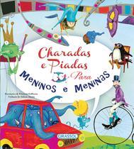 Livro - Charadas e piadas para meninos e meninas -