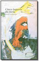 Livro - Cinco lugares da fúria -