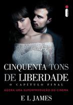 Livro - Cinquenta tons de liberdade - capa filme O capítulo final -