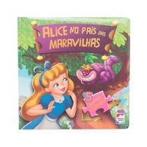 Livro - Clássicos em quebra-cabelas: Alice no país das maravilhas -