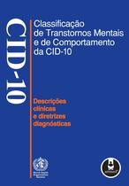 Livro - Classificação de Transtornos Mentais e de Comportamento da CID-10 -