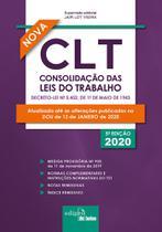 Livro - CLT – Consolidação das Leis do Trabalho 2020 - Mini -