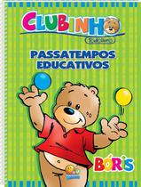 Livro - Clubinho Todolivro: passatempos educativos -