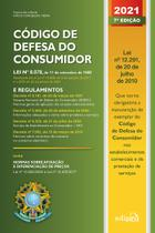Livro - Código de Defesa do Consumidor 2021 -