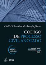 Livro - Código de Processo Civil Anotado -