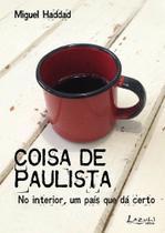 Livro - Coisa de paulista -