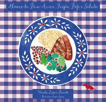 Livro - Coleção almoço da bisa - Arroz, Feijão, Bife e Salada -