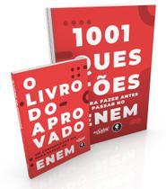 Livro - Coleção Me Salva - O Livro do Aprovado + 1001 Questões para Fazer Antes de Passar no ENEM