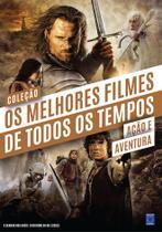Livro - Coleção Os Melhores Filmes de Todos os Tempos: Ação e Aventura -