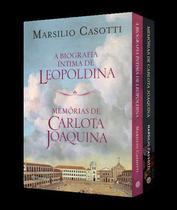 Livro - Coletânea - Memórias de Carlota Joaquina e A biografia íntima de Leopoldina -
