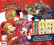 Livro Colorindo Com Disney Mickey Aventuras Sobre Rodas - Online -