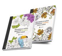 Livro Colorir Adulto Anti Estresse Mandalas Para Quarentena - Academia