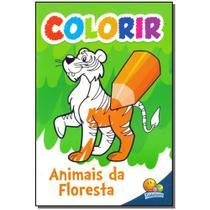 Livro - Colorir - Animais Da Floresta - Todolivro