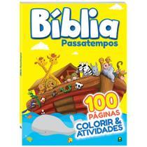 Livro - Colorir & Atividades: Bíblia - Passatempos (100 págs.) -