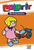 Livro - Colorir: brinquedos -