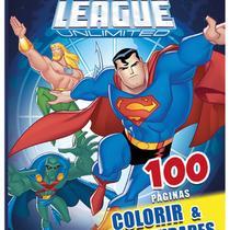 Livro Colorir com Atividades: Superman (100 pág) - Todolivro