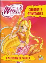 Livro - Colorir e atividades(GD)-Winx Club: O segredo de Stella -