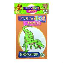 Livro - Colorir e brincar com animais -