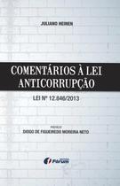 Livro - Comentários à lei anticorrupção - lei 12.846/2013 -