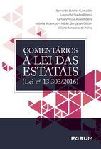 Livro - Comentários à Lei das Estatais (Lei n° 13.303/2016) -